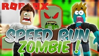 SPEEDRUN ZOMBIE ON ROBLOX