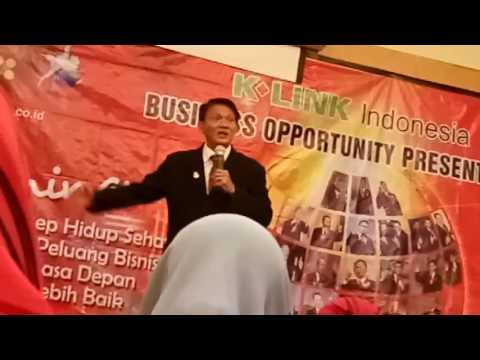 INSPIRASI SUKSES SCA BPK .  BUDIANTO NUGROHO  (Mantan Sales )  di K LINK INDONESIA DISK 1