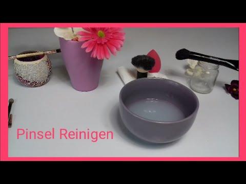Makeup Pinsel Reinigen