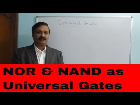 Universal gates-NOR Gate, NAND Gate(English)