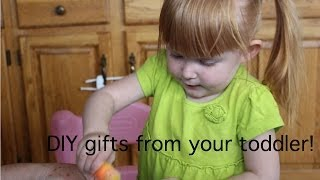 DIY Gifts from your toddler - Mother's Day, Father's Day! Thumbnail