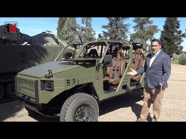 Einsa entregará en diciembre los vehículos ligeros Neton al Mando de Operaciones Especiales