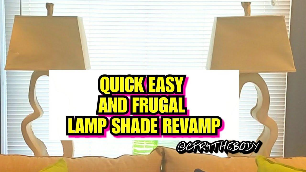 How to revamp lamp shade with rustoleum spray paint youtube how to revamp lamp shade with rustoleum spray paint aloadofball Choice Image