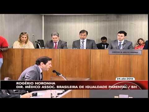 Veja o video – 09 – ALMG – ABRIF – Audiência Publica Alienação Parental – Dr  Rogério Noronha