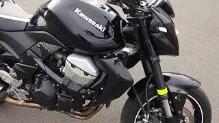 Kawasaki Z750 Presentation Engine Start Up Revsexhaust Soundcheck