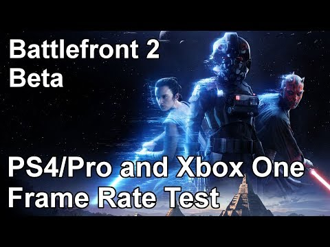 Star Wars Battlefront 2 PS4 vs PS4 Pro vs Xbox One Frame Rate Test (Beta)