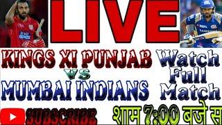 Live Cricket Scorecard MI vs KXIP 12th Match | WATCH FULL MATCH | SUBCRIBE MY CHANNEL|