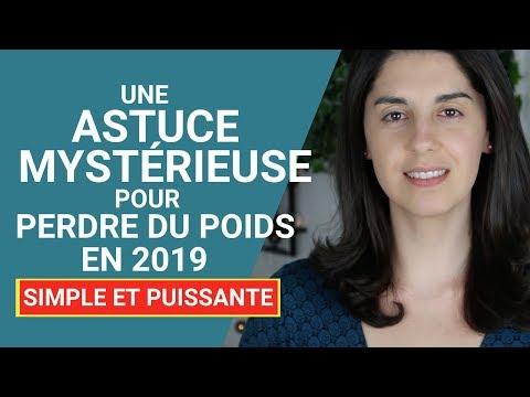 Une ASTUCE Mystérieuse Pour PERDRE DU POIDS En 2019 - Simple Et Puissante