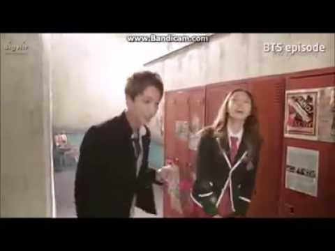 Bts jin skool luv affair behind the scenes