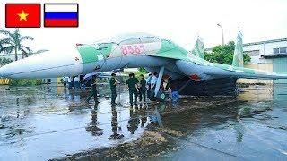 Nga Bất Ngờ! Việt Nam chế tạo thành công máy bay Su-30 ngụy trang mang Số Hiệu VN Đầu Tiên