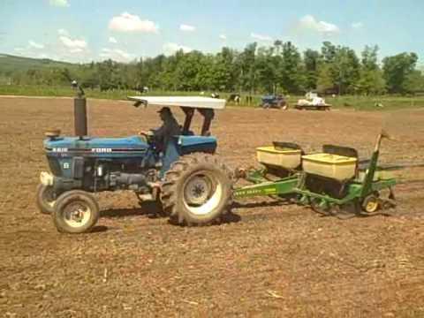 Planting Corn Spring 2010