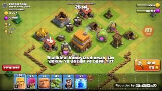 Clash Of Clans Savunmasız Köy - 1