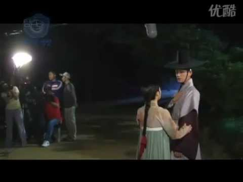 Tamna The Island BTS (Kiss Scene)