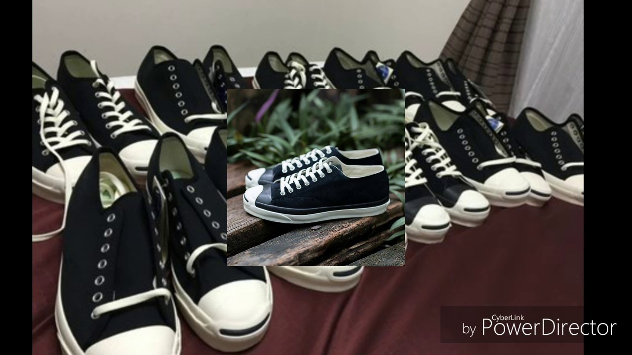 62cf8e30242e Converse Jack purcell time line 80 s - YouTube