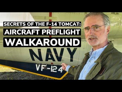 Download Secrets of the F-14 Tomcat: Aircraft Preflight Walkaround