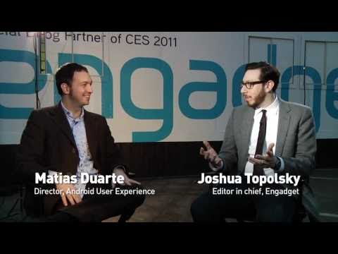 Google's Matias Duarte talks Honeycomb, tablets, design, and the future of Android.