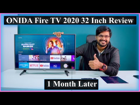 ONIDA FIRE TV🔥 Edition 2020 Model 32 Inch Smart LED TV 📺  Review After 1 Month   अभी खरीदें 👍👍