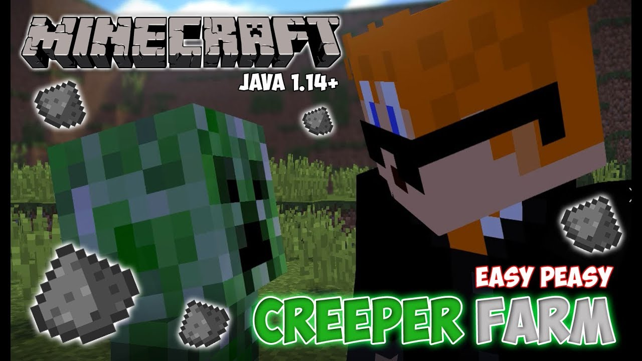 Minecraft Tutorial: Creeper Farm   With/Without Cats ...