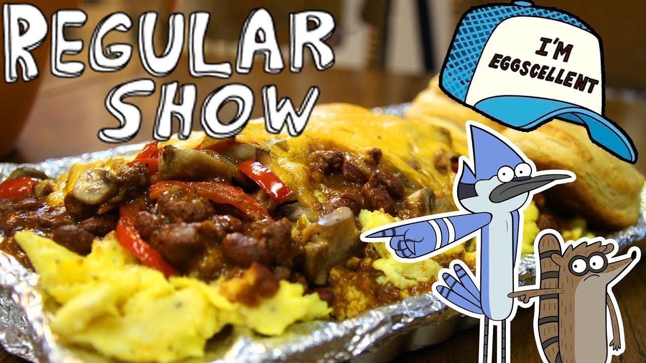 The Eggscellent Challenge From Regular Show Youtube