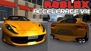 *NEW* Ferrari 812 SUPERFAST TESTDRIVE REVIEW!! | Accelerate V4 (Roblox)