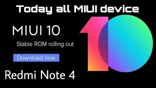 Redmi Note 4 Stable MIUI 10.1.1.0 Update || Miil gya update sabko