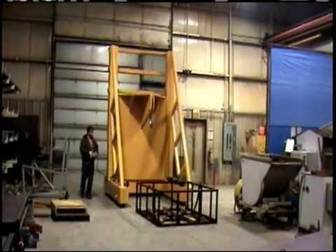 Titan Mold Transporter 3160: 50,000 lb Capacity