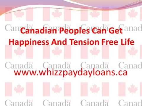 Instant Payday Loans Canada - @http://www.whizzpaydayloans.ca/payday-loans.html