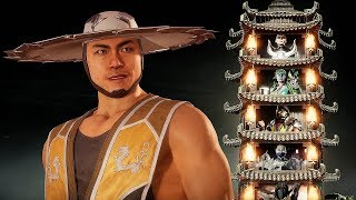 MORTAL KOMBAT 11 - KUNG LAO Klassic Towers Gameplay (Hard Difficulty) @ 1080p (60ᶠᵖˢ) ✔