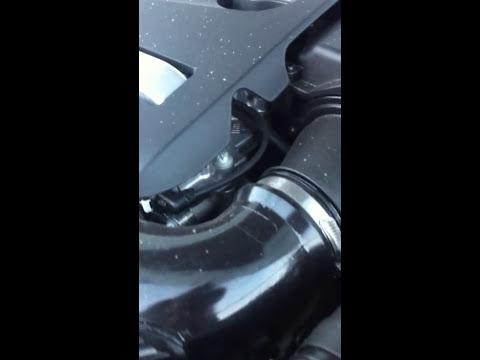 W212 рестайл 2013г Стук при утреннем запуске,при минусовой температуре.