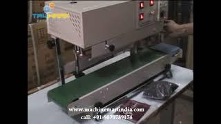 continuous band sealer, bag sealing machine, nitrogen flushing, pouch sealing machine