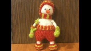 ⛄️Вязание крючком Снеговик крючком вязание амигуруми крючком.Вязаный снеговик.