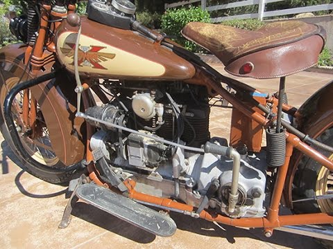 1931 Henderson KJ   Out for A Ride