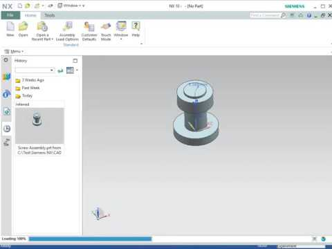 Tutorial Video for Coupling OptiY to Siemens NX