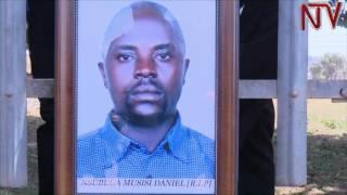 Amasasi g'e Wandegeya: Poliisi n'ab'oluganda lw'omugenzi basiibye mu kafubo thumbnail