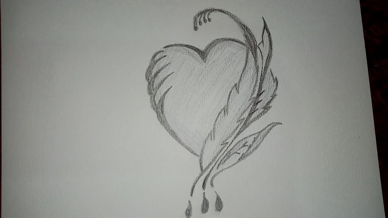 شكل قلب حالمة شكل قلب وردي