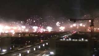 World Record Fireworks. Palm Jumeirah. Dubai. HAPPY NEW YEAR!!!