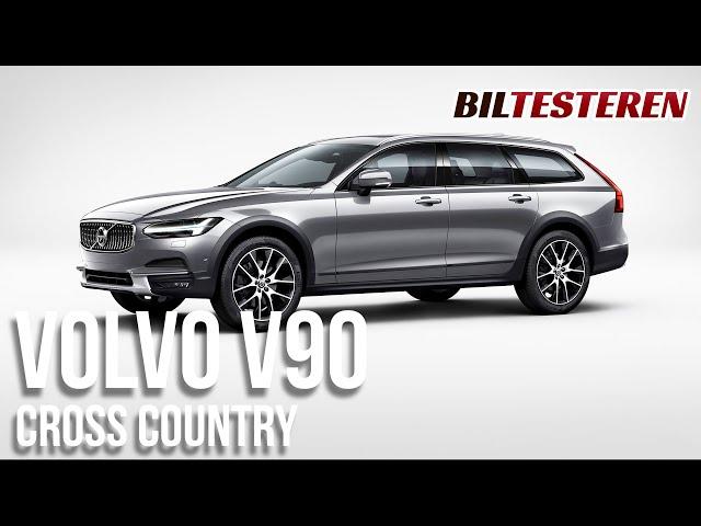 Volvo V90 Cross Country med et lille facelift