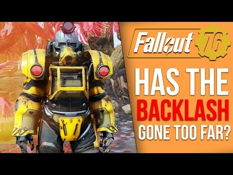 Obsidian is Upset Over the Fallout 76 Bashing and a New Fallout 76 Item Deletion Glitch Has Emerged thumbnail