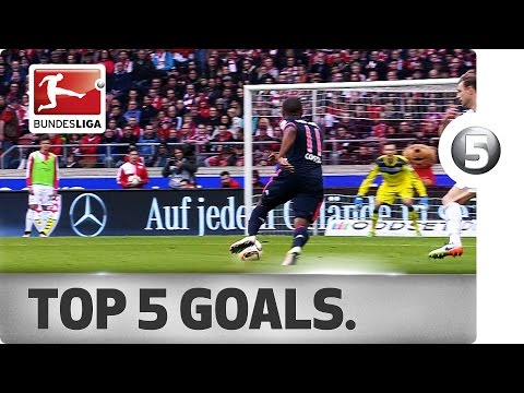 Top 5 Goals - Schürrle, Kagawa and More with Incredible Strikes