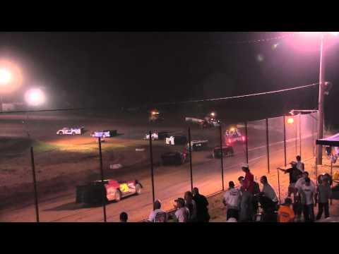 West Siloam Speedway 7 6 13 Amain Late Models MARS Ryan Gustin #19r Winner