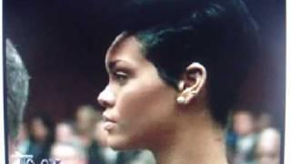 rihanna inside chris brown court appearance in los angeles jun 22nd 2009