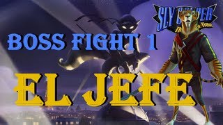 Sly Cooper 4 Thieves in Time Boss Fight 1 El Jefe