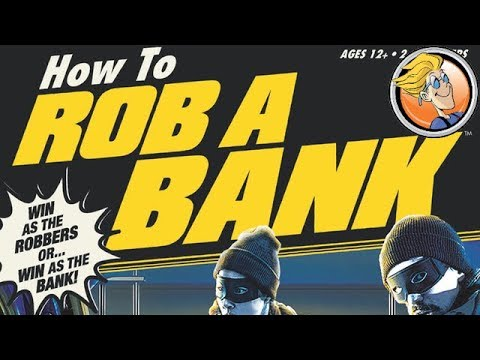 How to Rob a Bank — game preview at Gen Con 50