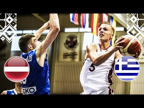 Latvia v Greece - Full Game - FIBA U18 European Championship 2018
