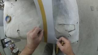 Как сделать ровные ,чёткие,красивые канты( рёбра )на кузовных панелях авто