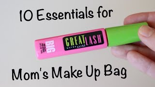 10 Essentials for Mom's Makeup Bag
