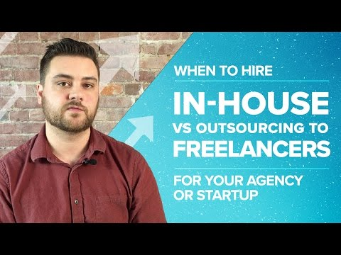 When to Hire In-house vs. Outsourcing to Freelancers for your Agency or Startup - Proposify Biz Chat