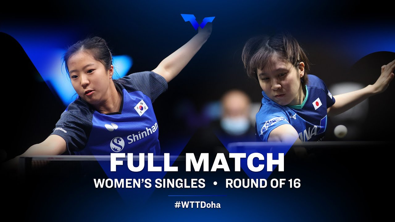 Download Shin Yubin vs Miu Hirano   WTT Star Contender Doha 2021 - March (FULL Match)