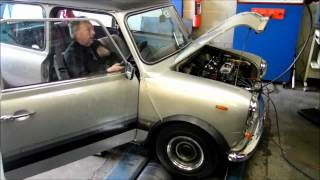 mini 1098 fast road engine with straight cut drops rolling road tune