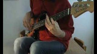 The Bellamy Brothers - Let Your Love Flow -- Bass Cover